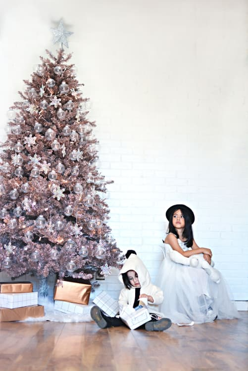 (Image credit: Little Inspiration) - Rose Gold Christmas Tree Trend Where To Buy Apartment Therapy