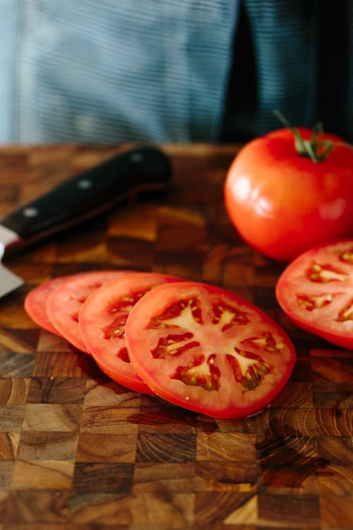 how to perfectly slice any tomato kitchn