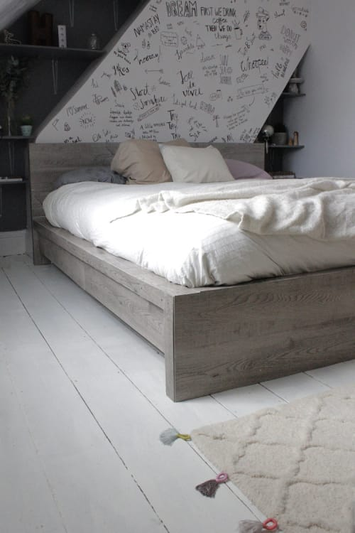 Ikea Bed Frame Hacks Diy Headboard Projects Apartment Therapy