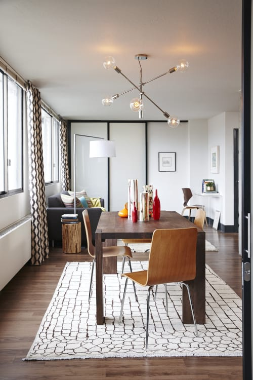All About The Rug These Seven Dining Rooms