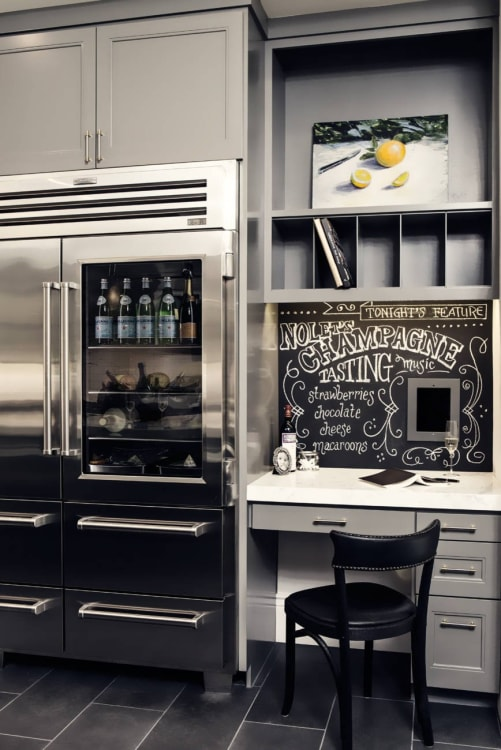 Charmant (Image Credit: Jules Art Of Living). Glass Door Refrigerator