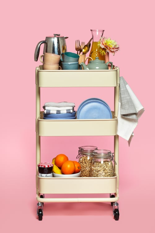 The IKEA RÅSKOG Cart as Breakfast Station | Kitchn Gl Case Ikea on big lots cases, at&t cases, ebay cases, nike cases, amazon cases, gucci cases, canon cases, adidas cases, aeropostale cases, victoria's secret cases, nokia cases,
