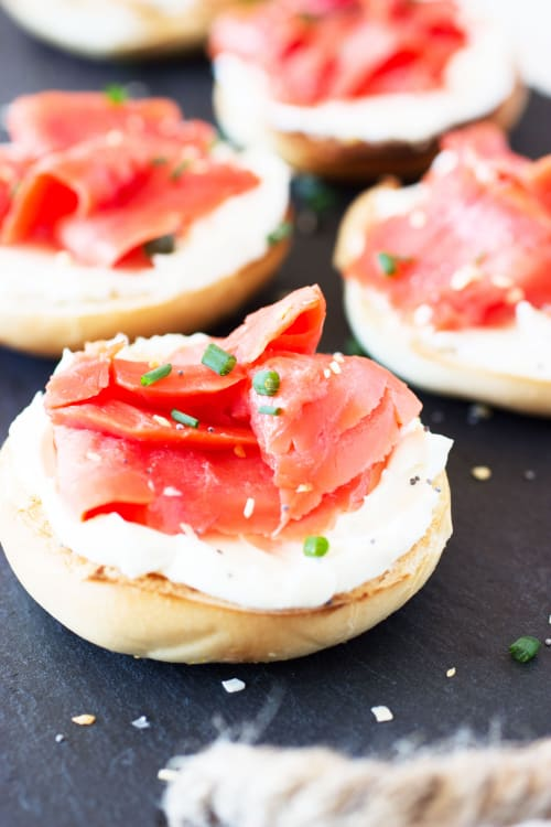recipe mini bagels and lox kitchn