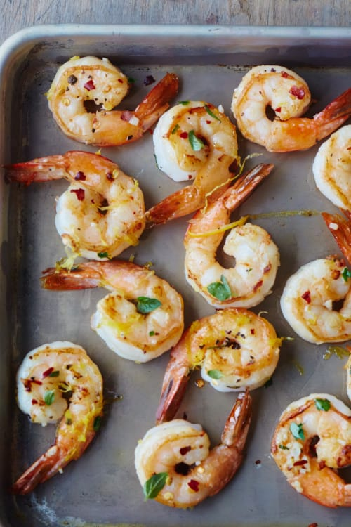 Roasted Lemon Oregano Shrimp Kitchn