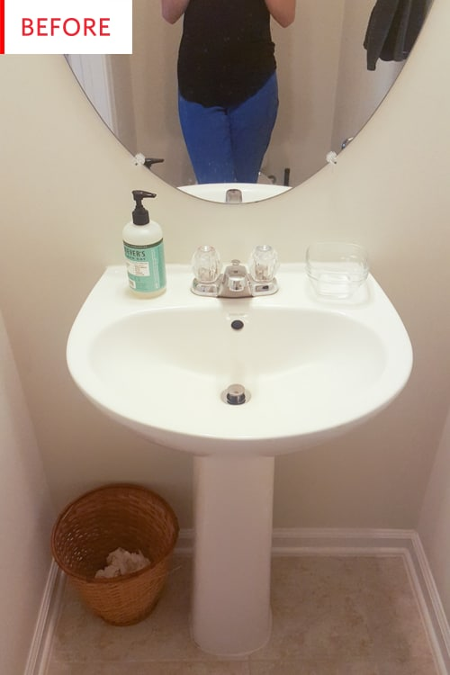 Budget Bathroom Makeover Photos And Ideas Apartment Therapy
