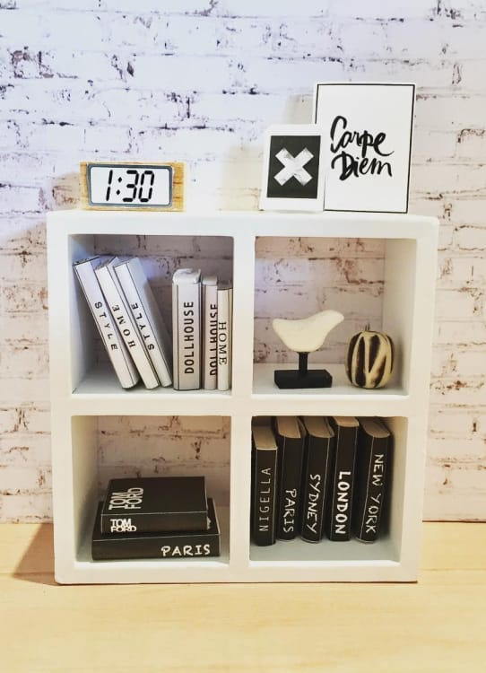 ikea dollhouse furniture kids image credit one brown bear ikea mini dollhouse furniture diy project ideas apartment therapy