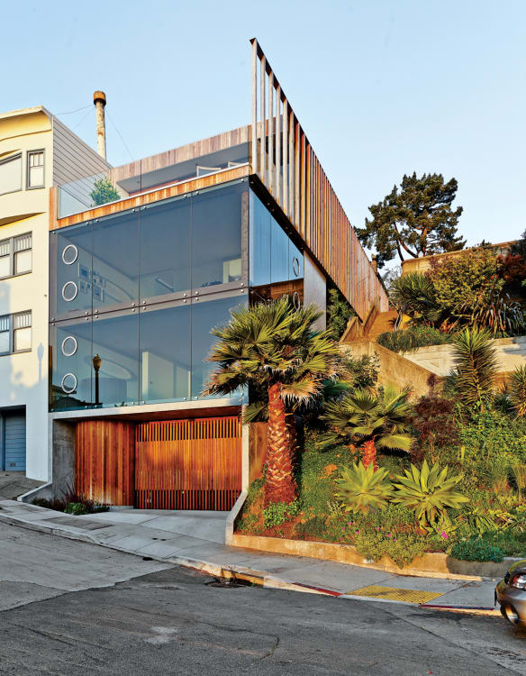A Modern San Francisco Home With The Coolest Garage Door Apartment