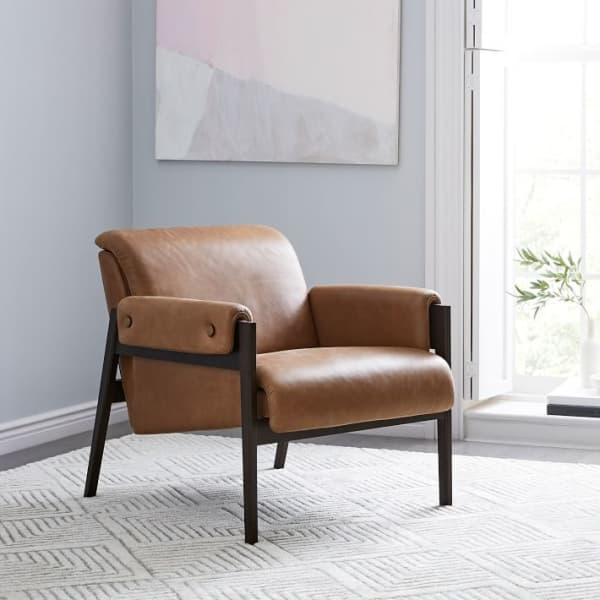Statement Leather Chairs