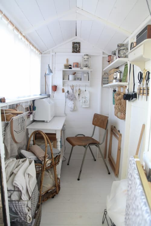 6 Stunning Woman Cave Craft Rooms She Shed Ideas