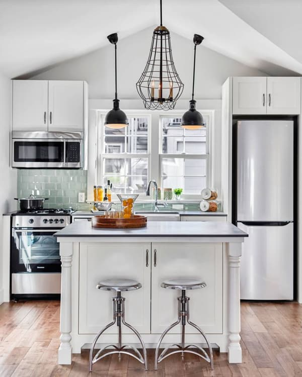 Kitchen Impossible Idee: 5 Smart Kitchen Islands In Small Spaces