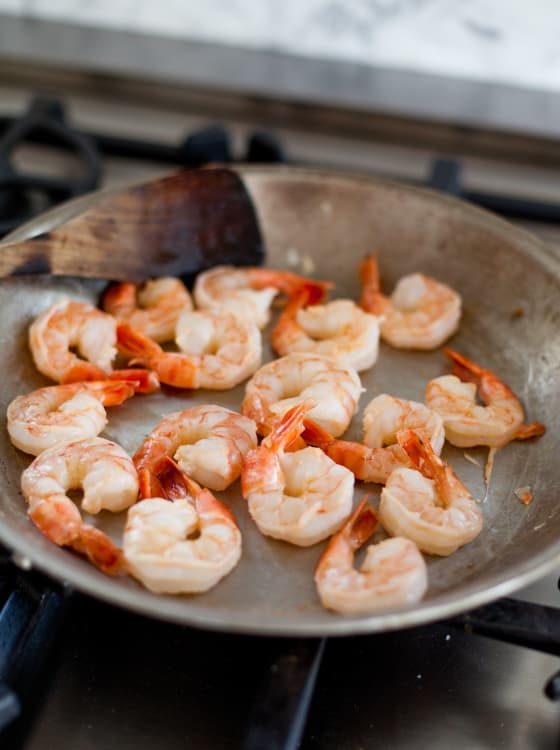 How To Quickly Cook Shrimp On The Stovetop Kitchn