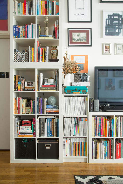 where to buy storage cubes for an ikea kallax bookshelf apartment therapy. Black Bedroom Furniture Sets. Home Design Ideas