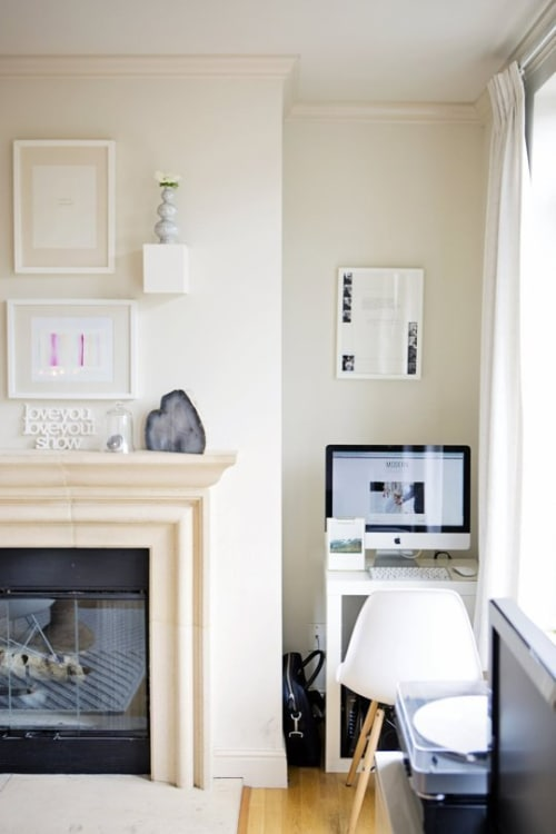 Apartment therapy office Tiny Myka And Georges Modern Abode image Credit Apartment Therapy Apartment Therapy Home Office Ideas How To Create Stylish amp Functional