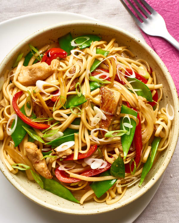 Takeout Style Chicken Lo Mein Kitchn