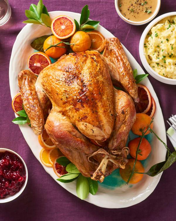 Turkey breast done temp