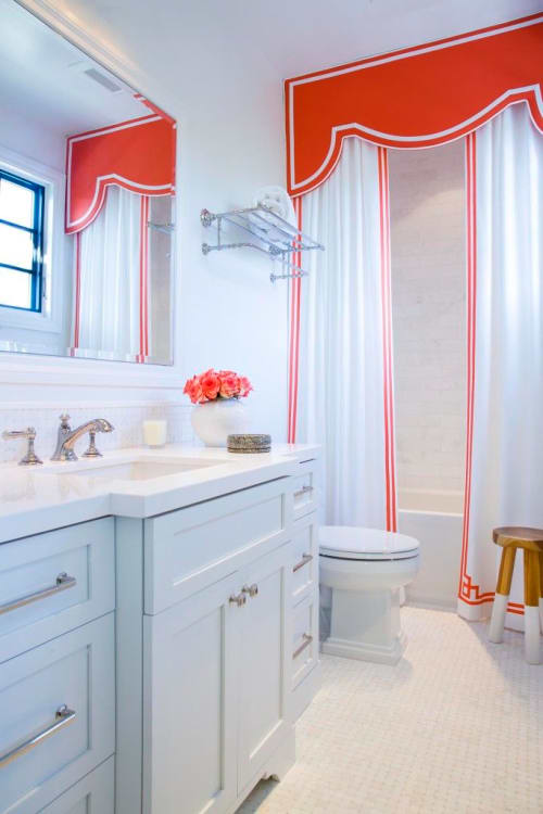 Shower Curtain Design Ideas Valances Cornices Pelmets In The