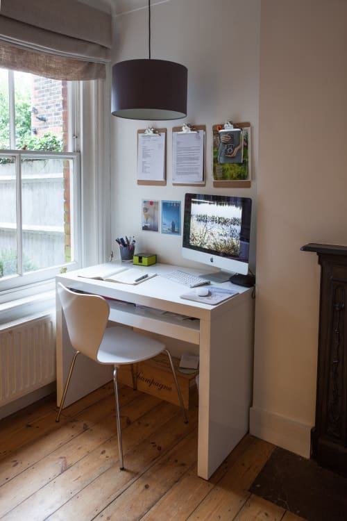 Tiny home office Backyard Cathy Tonys Calm Creative English Home Luxury Busla Yes You Can Fit Home Office Into Your Tiny Home Apartment Therapy