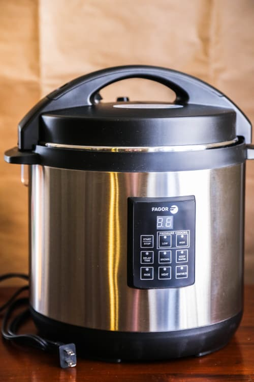 The Fagor Electric Pressure Cooker Plus Is A Quiet Cooking Ninja