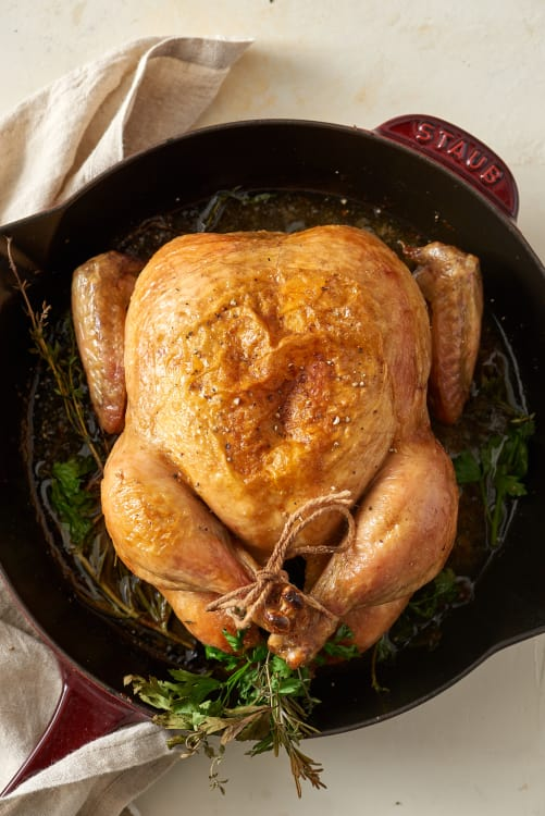 how to roast a chicken kitchn