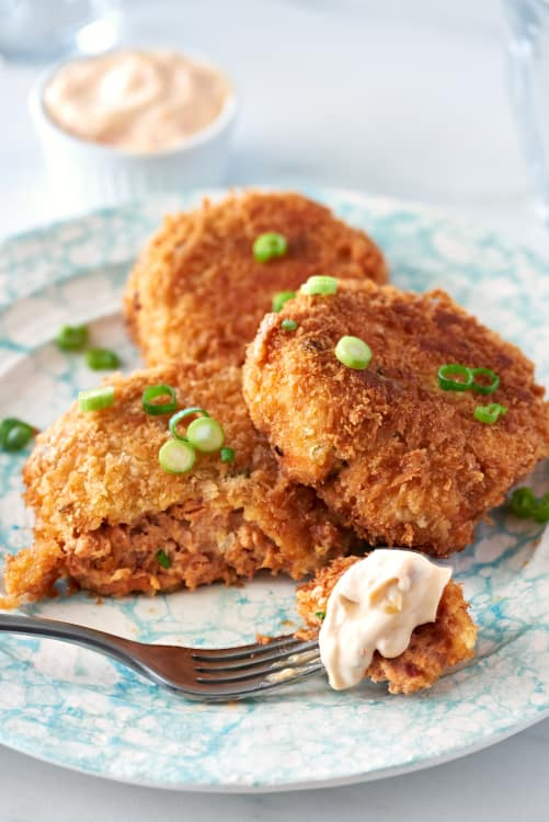 Recipe Canned Salmon Cakes Kitchn