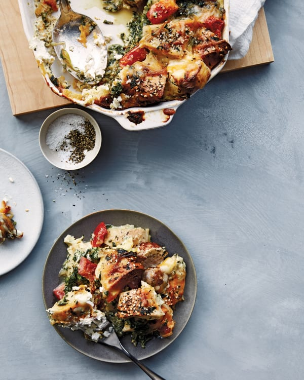 chrissy teigen everything bagel casserole review kitchn