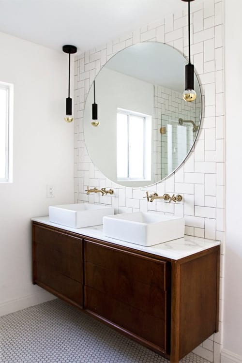 Designing A New Bathroom On A Budget How To Make Cheap Tile Look