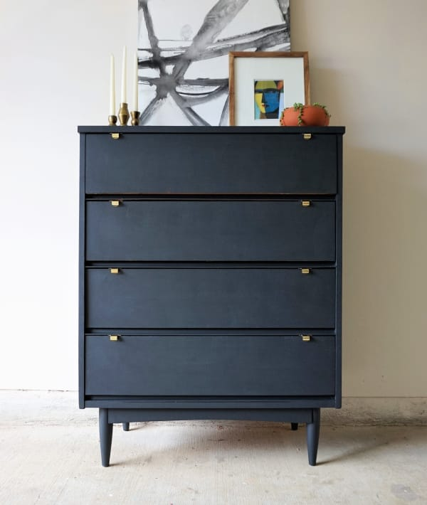 Merveilleux How To Refurbish Old Furniture: Mid Century Dresser Makeover | Apartment  Therapy