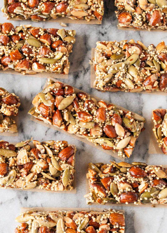 smoked almond snack bars copycat kind bars recipe kitchn