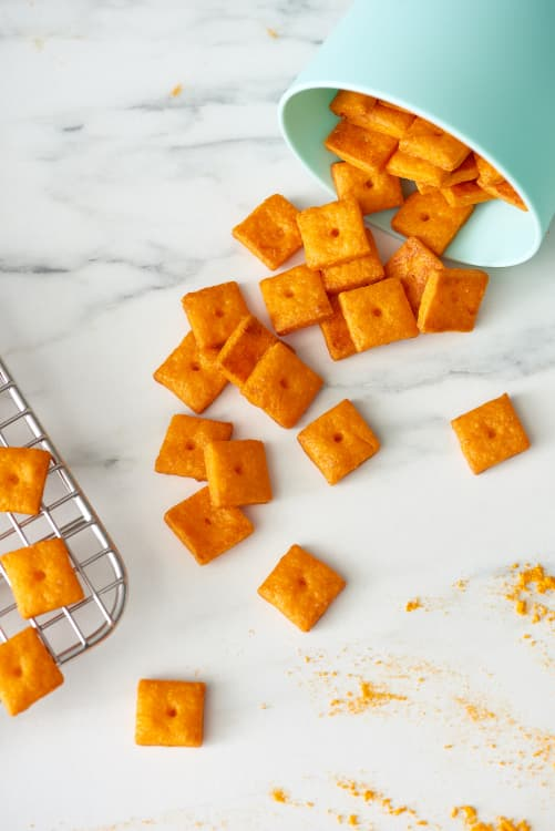 copycat cheezit recipe homemade cheese crackers kitchn
