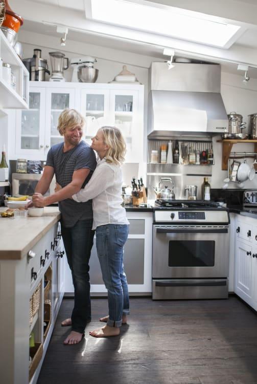 image credit leela cyd open kitchen tour - California Kitchen