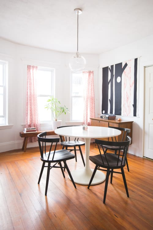Style Recipe: Mix IKEA U0026amp; Vintage For The Perfect Dining Room |  Apartment Therapy