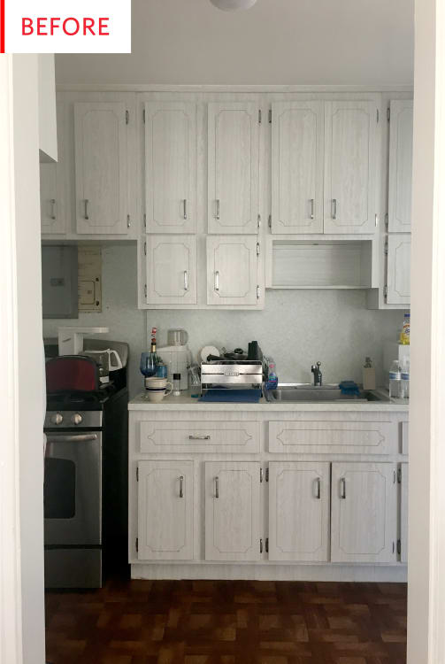 Kitchen Renovation Designer Architect Before And After Apartment - Apartment-therapy-kitchen