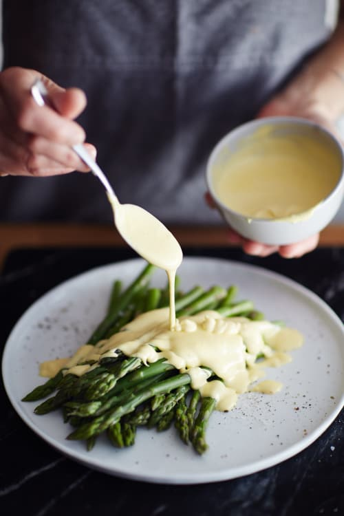 How To Make Hollandaise Sauce In A Blender Kitchn Kitchn