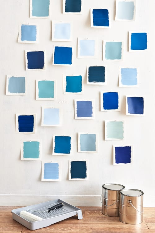 color cheat sheet the best blue paint colors apartment therapy