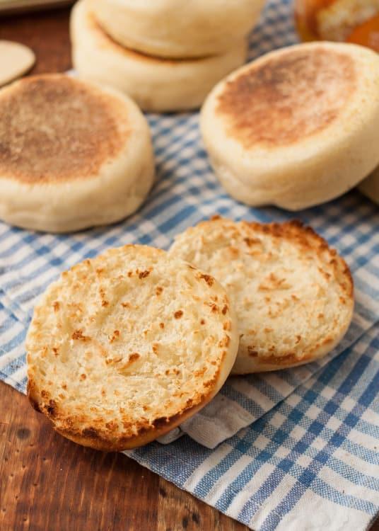English muffins light recipe