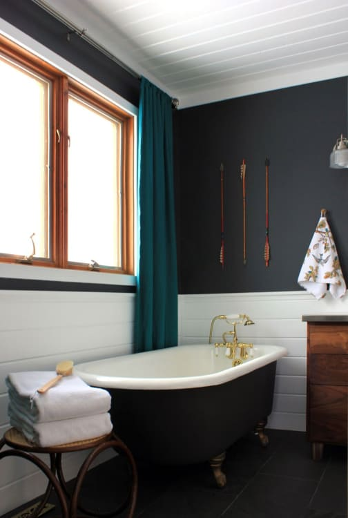 small bathroom paint colors Best Paint Colors for Small Bathrooms | Apartment Therapy small bathroom paint colors