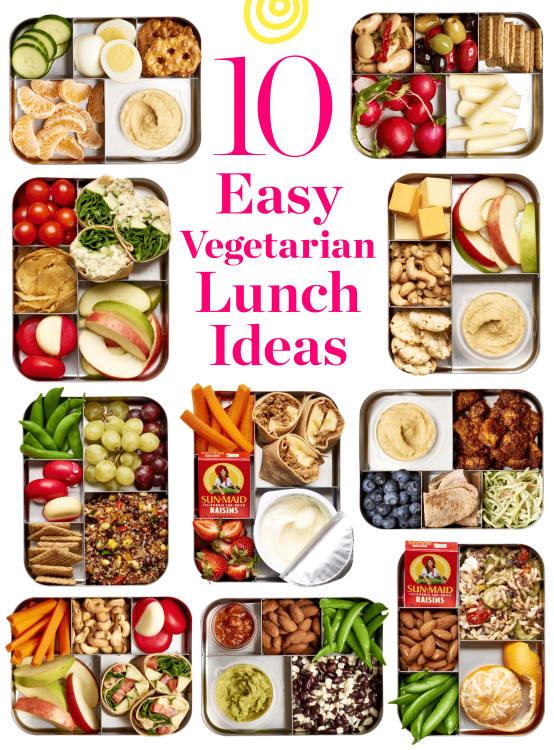 Easy Vegetarian Lunch Ideas