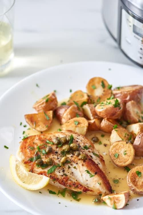 Recipe Slow Cooker Chicken Piccata Kitchn