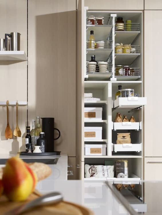 8 Sources For Pull Out Kitchen Cabinet Shelves Organizers And Sliding Drawers
