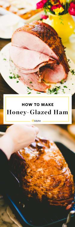 How To Bake A Honey Glazed Ham Kitchn