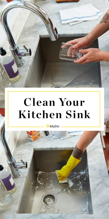 How To Clean Your Kitchen Sink | Kitchn