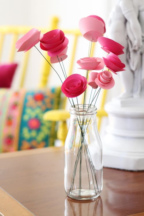 How to make paper flowers roses apartment therapy image credit ashley poskin paper flowers mightylinksfo