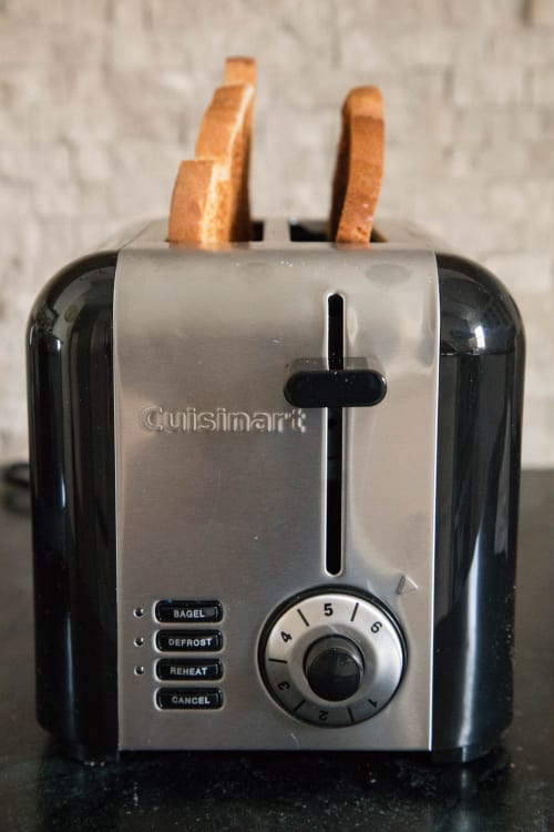 The Cuisinart Toaster Is Sleek Compact Amp Stays Cool To