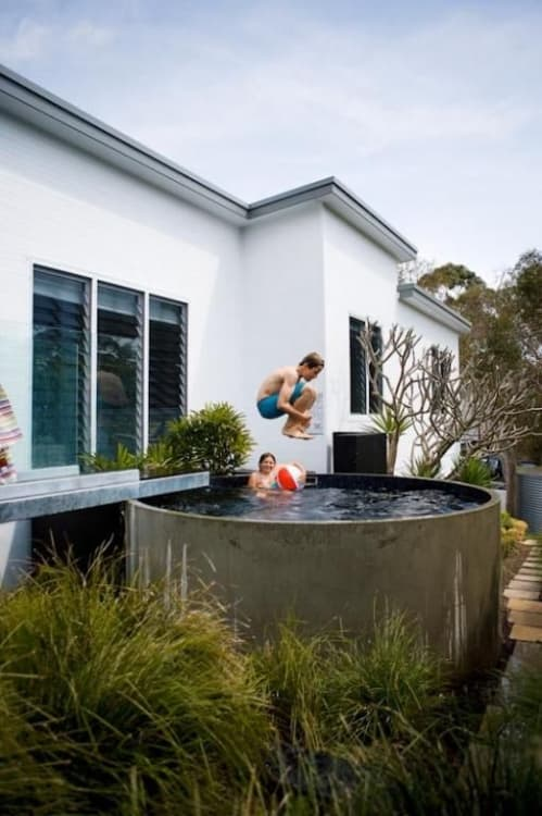 (Image credit: Australian Plunge Pools) - 12 Small Pools For Small Backyards Apartment Therapy