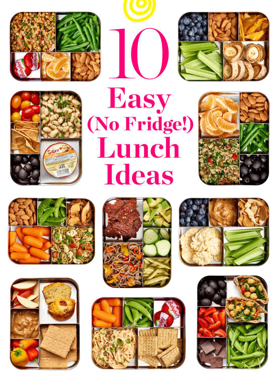 Easy No-Refrigerate Lunch Ideas   Kitchn e29be71baa