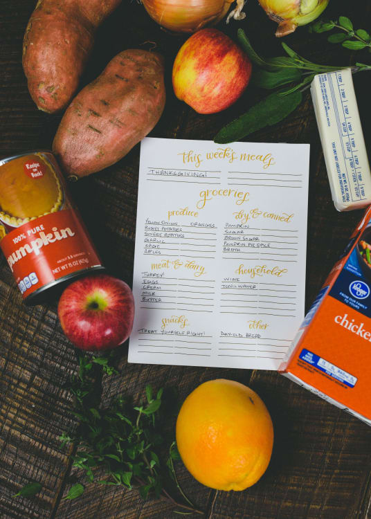 thanksgiving on a 100 budget a shopping list with tips kitchn