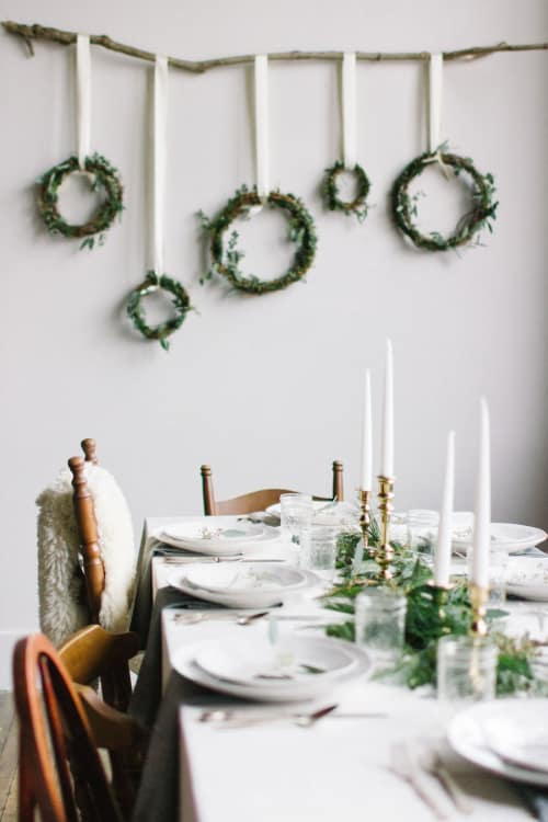image credit april may - Christmas Decorations For Small Spaces