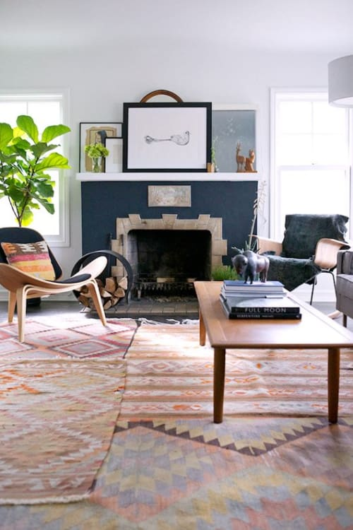 A Collection Of Beautiful Rooms With Kilim Rugs Apartment Therapy