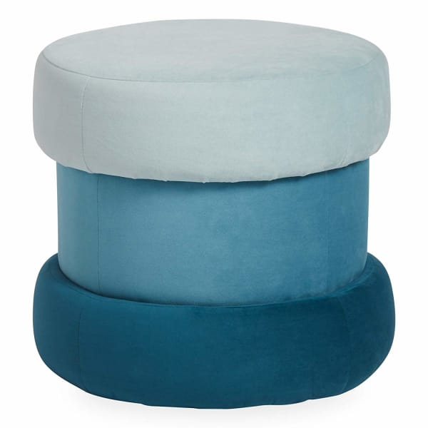 5. Now House by Jonathan Adler Chroma Upholstered Ottoman