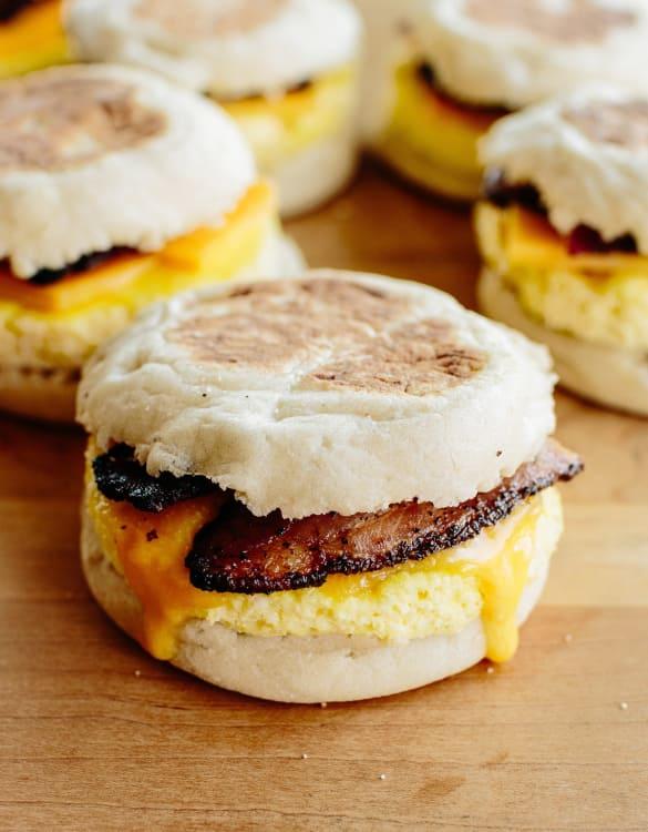 How To Make Freezer Friendly Breakfast Sandwiches Kitchn